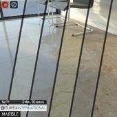 TUREX INTERNATIONAL Marble Tiles Set 72