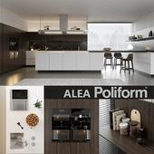 Kitchen Poliform Varenna Alea 4 (vray GGX, corona PBR)