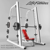 Smith machine and Multi-Adjustable Bench