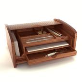 Wooden Office Organizer