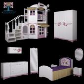 Детская мебель Cleverroom La Fleur