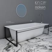 ванна MODUL krion 170x800x480 кран IMAGINE