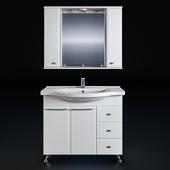Мебель для ванной СанТа Альтаир 100