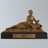 Arethusa small statue