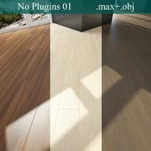 Parquet 3 types (No Plugins)