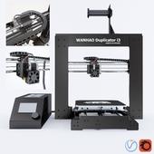 3D Принтер WANHAO DUBLICATOR I3 V 2.1