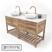 Restoration Hardware Washstand