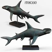 Hammerhead Shark Statue