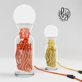 Table lamp - PULSE YELLOW
