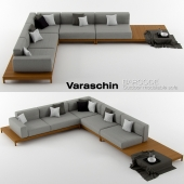 Varaschin - Barcode outdoor sofa