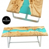 Wooden table River