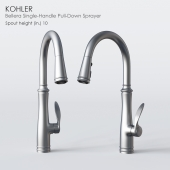 KOHLER Bellera Single-Handle Pull-Down Sprayer