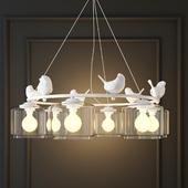 HANGING LAMP PROVENCE BIRD PENDANT CHANDELIER PEDANT