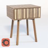 Bed table by Slavomír Artim