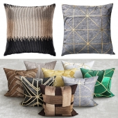 art deco pillows
