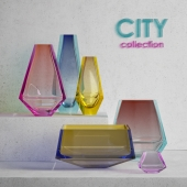 Moser City vases collection