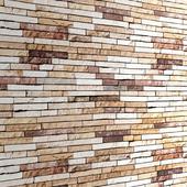 Стена из сланцевого камня