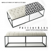 ALBANY TUFTED UPHOLSTERED BENCH