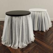 tutu skirts for side table    Столик в юбочках туту