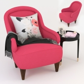 Kate Spade Drake Slipper Chair