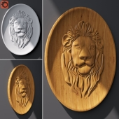 Panel the Lion 470x621x27mm