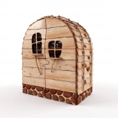 Wardrobe-house for children's