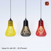 Kayan XL with 001 - 3D printed (Plumen)