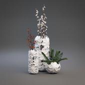 Ceramic vases Eterna