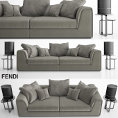 Fendi prestige sofa set