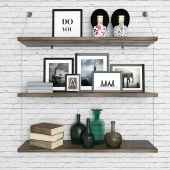 Shelves and accessories