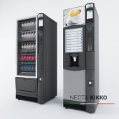 Necta Kikko Vending and Snack Machine
