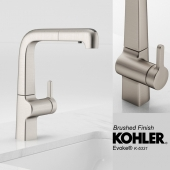 KOHLER- Evoke Single Handed Faucet- 2 Finishes