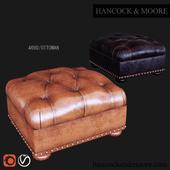 Hancock & Moore Ottoman