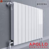 Apollo Modena Horizontal Aluminium Radiator