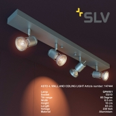 ASTO 4 WALL AND CEILING LIGHT