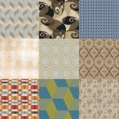 Textile factory Stroheim_Geometric Abstract vol 1