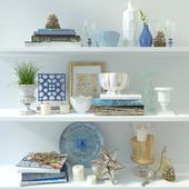 Blue Decor Set