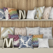 Collection of pillows - 2