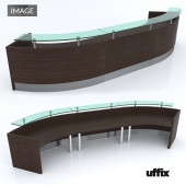 Uffix reception desk Image
