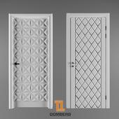 Двери с МДФ-панелями Domberg
