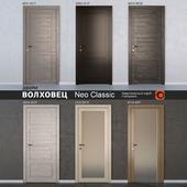 Двери ВОЛХОВЕЦ коллекция Neo Classic
