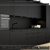 Кухня Ikea Метод Кунгсбакка.