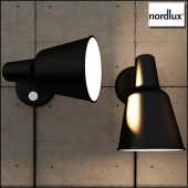 Wall light industrial Patton - Black-Nordlux
