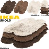 IKEA SKOLD (СКОЛЬД) RUGS SET