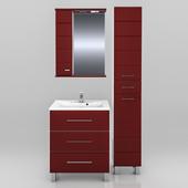 Мебель для ванной СанТа Омега 65 (в двух цветах)