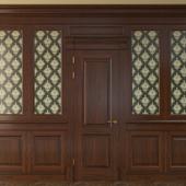 Дверь с панелями-700