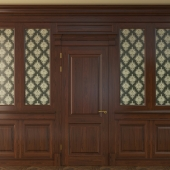 Дверь с панелями-800