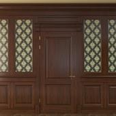Дверь с панелями-900