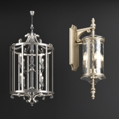 Chandelier and Wall Lamp