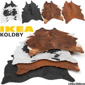 IKEA KOLDBY (КОЛЬДБИ) RUG SET